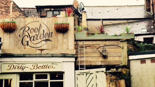 The Dirty Bottles, Alnwick - Rooftop Terrace